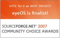 EyeOS, finalista como mejor proyecto del año