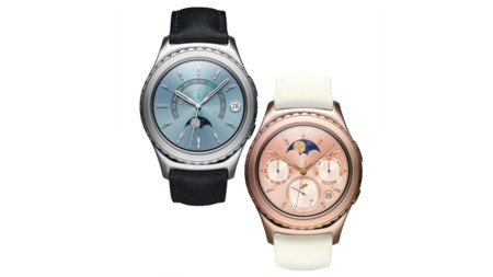 Photo Samsung Gear S2 Classic Platinum Rosegold