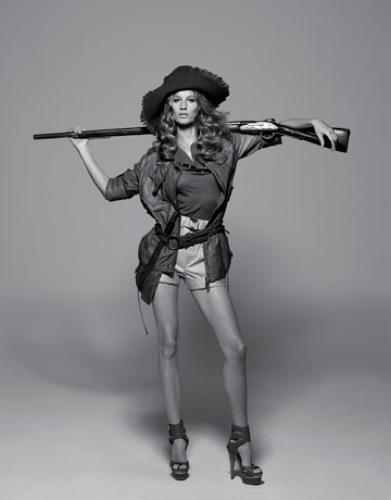Gisele Bundchen en la portada de abril de Harper's Bazaar