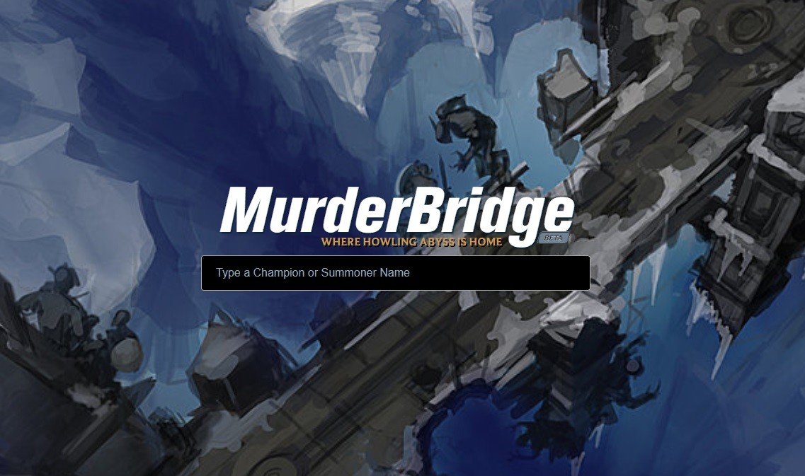 MurderBridge y sus estadísticas para ARAM llega a League of Legends