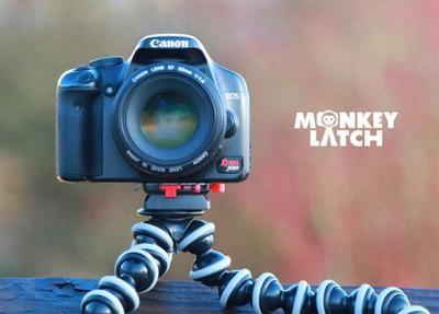 Monkey Latch: la solución para fijar nuestra cámara a un trípode u otros accesorios con un clic