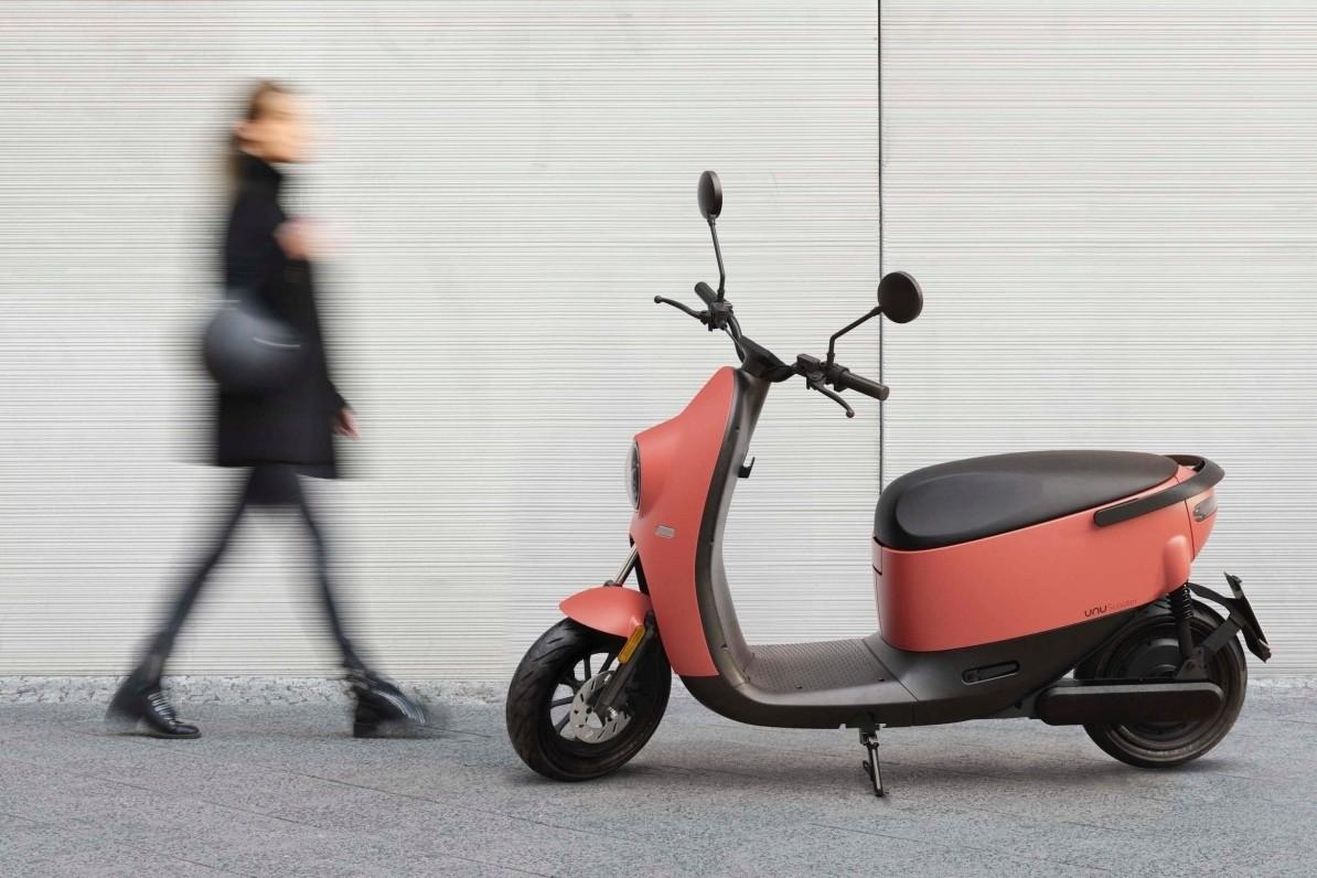 100 km de autonomía y sistema antiladrones para la segunda generación de motos eléctricas unu