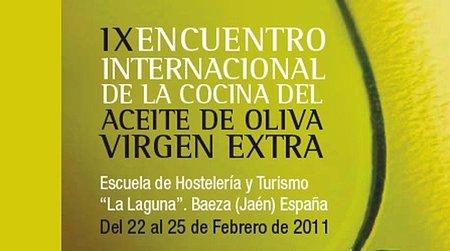 IX Encuentro Internacional de la Cocina del Aceite de Oliva Virgen Extra