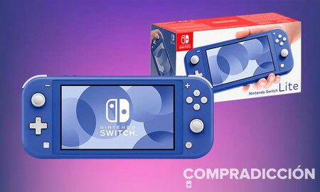 La nueva Nintendo Switch Lite azul ya se puede reservar. Amazon te la deja más barata, por 209,95 euros