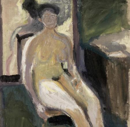 Mathilde Schonberg por Richard Gerstl