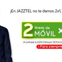 Jazztel subirá 1.30 euros sus packs a cambio de más megas para el móvil