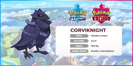 Pokémon Espada y Escudo - Corviknight