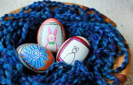 Manualidades Ninos Decorar Huevos Pascua 07