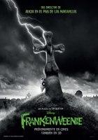 'Frankenweenie' de Tim Burton, cartel