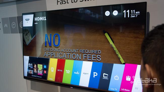 webOS en los Smart TV de LG, toma de contacto en vídeo