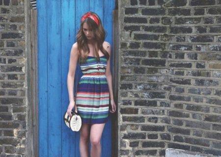 Pull Bear Primavera 2011 vestido