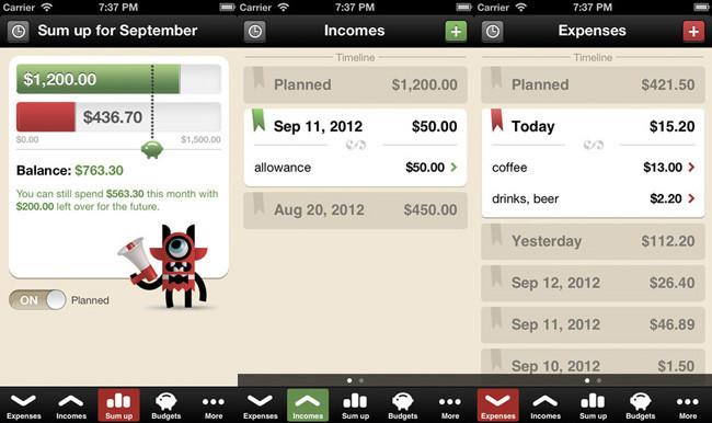 Gestores de contabilidad para iPhone - 1