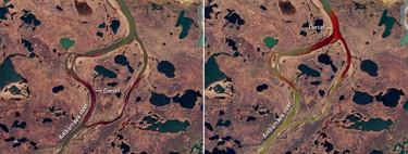 Hay 21.000 toneladas de diésel vertidas sobre el Ártico. Un ejemplo de lo que nos espera con el permafrost