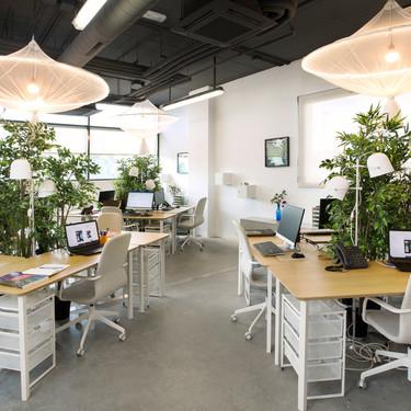Living Lab es el nuevo espacio de trabajo para el emprendimiento de La Universidad Politécnica de Madrid que cuenta con el apoyo de Ikea y cuyo resultado os mostramos aqui