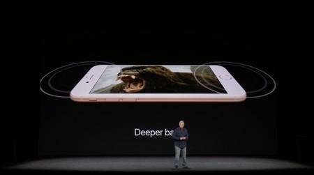 iPhone 8, sonido