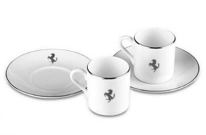 Nuevos diseños Ferrari en porcelana blanca