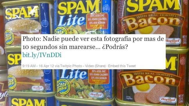twitpic spam