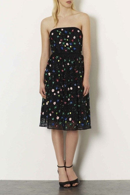 vestido topshop brillos limited edition