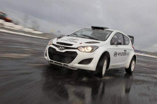 Hyundai WRC Blick