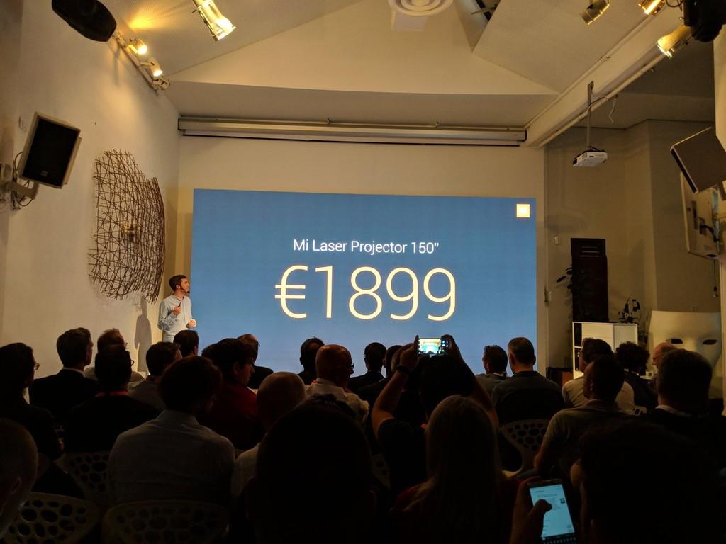 Price Xiaomi Mi Laser Projector