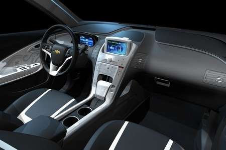Interior Chevrolet Volt bi tono