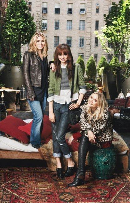 Primera imagen de la nueva marca de las gemelas Olsen: Olsenboye