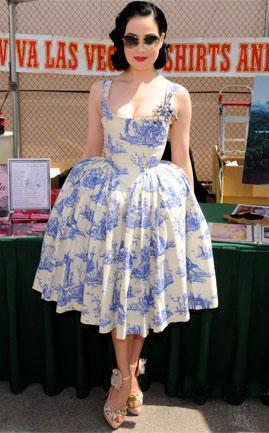 Vestidos años 50s