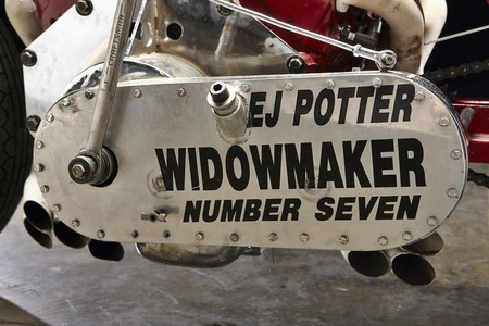 Ej Potter Widowmaker 7 Motorcycle With A Chevy V8 07