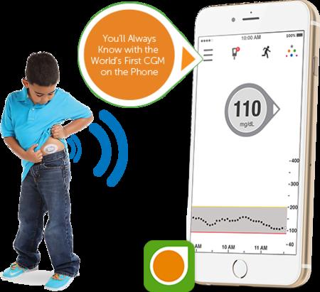 Dexcom G5 monitoriza tus niveles de glucosa constantemente en el móvil