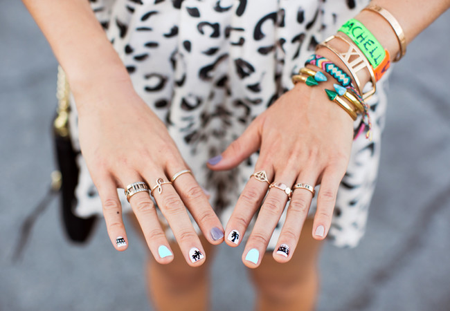 Song Of Style Coachella Nails