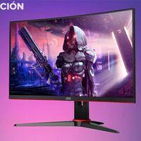 Este monitor gaming curvo de altas prestaciones tiene un precio muy ajustado en PcComponentes: AOC C24G2AE/BK por 199 euros