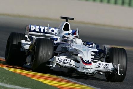 BMW Sauber realiza simulacros de carrera en Valencia