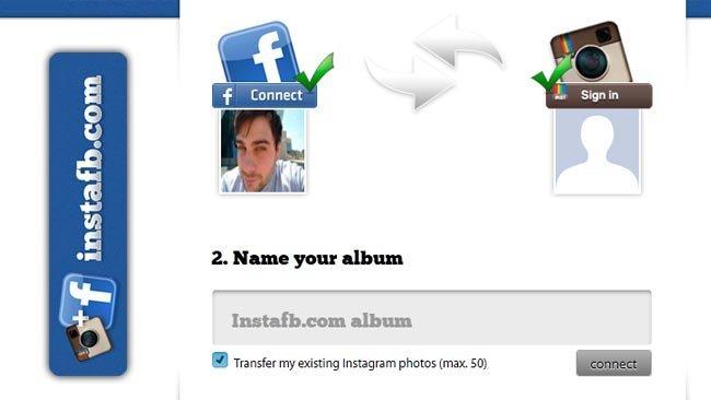 InstaFB sube automáticamente tus fotos de Instagram a Facebook