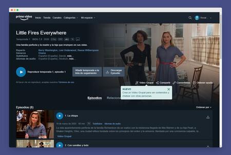 Video Grupal Amazon Prime