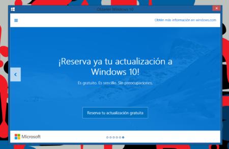 Reservar Actualizacion W10