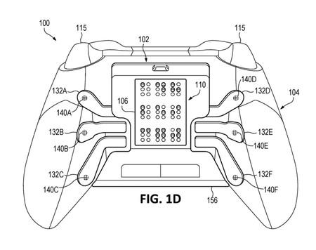 Microsoft prepara un mando de Xbox con panel háptico en braille para jugadores con alguna discapacidad visual