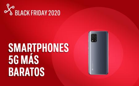 Los seis smartphones con 5G más baratos que puedes comprar este Black Friday