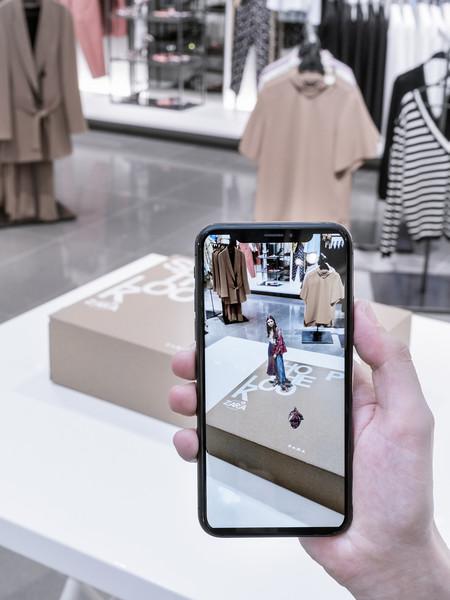 Zara realidad aumentada