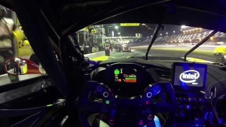 15 minutos a bordo del Corvette C7.R durante las 24 horas de Daytona