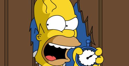 Homer en El Resplandor