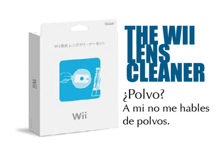 El polvo de Wii es historia. 'The Wii Lens Cleaner'