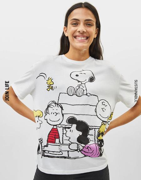 Bershka Snoopy Otono 01