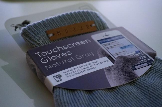 Mujjo Touchgloves etiqueta
