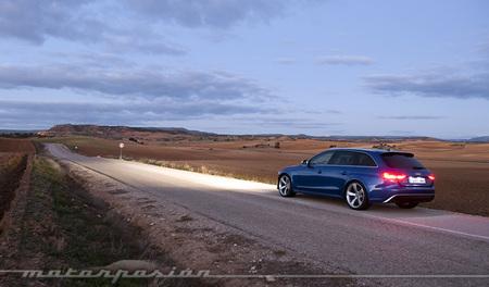 Audi RS4 Avant, prueba
