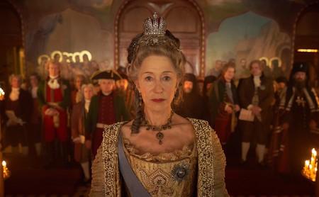 'Catalina la Grande': una imperial Helen Mirren es la mejor baza de una miniserie eficaz