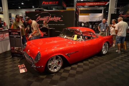 SEMA Show 2018 Corvette rojo