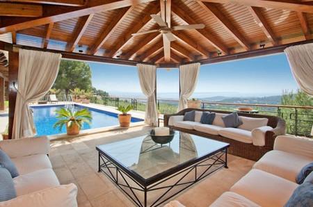 Villa de lujo en Son Vida, Mallorca, con vista sobre la bahía de Palma
