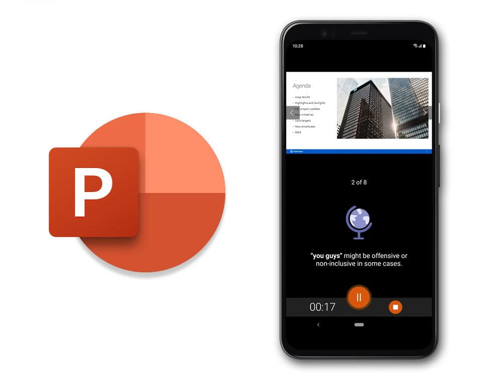 PowerPoint Presenter Coach viene a Android, una herramienta que te apoya a proclamar en público