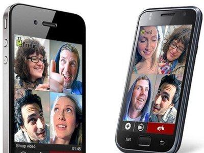 Fring y sus videollamadas grupales llegan a iOS y Android