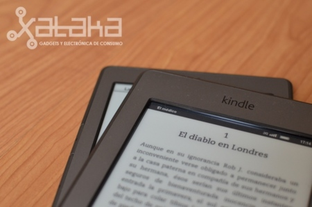Grosor marco pantalla nuevo kindle touch
